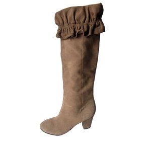 Libby Edelman Charisma Suede Boots 11M